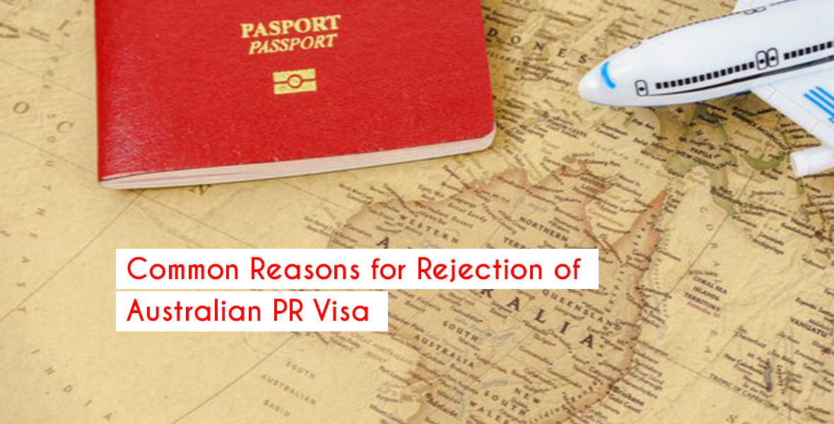 Common Reasons for Rejection of Australian PR Visa